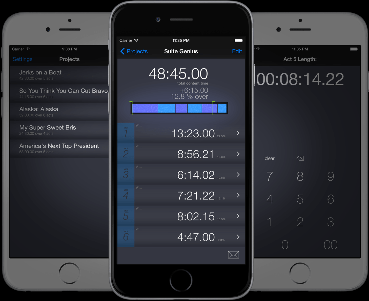 Runtime for iOS: picture locking tool and timecode calculator ...
